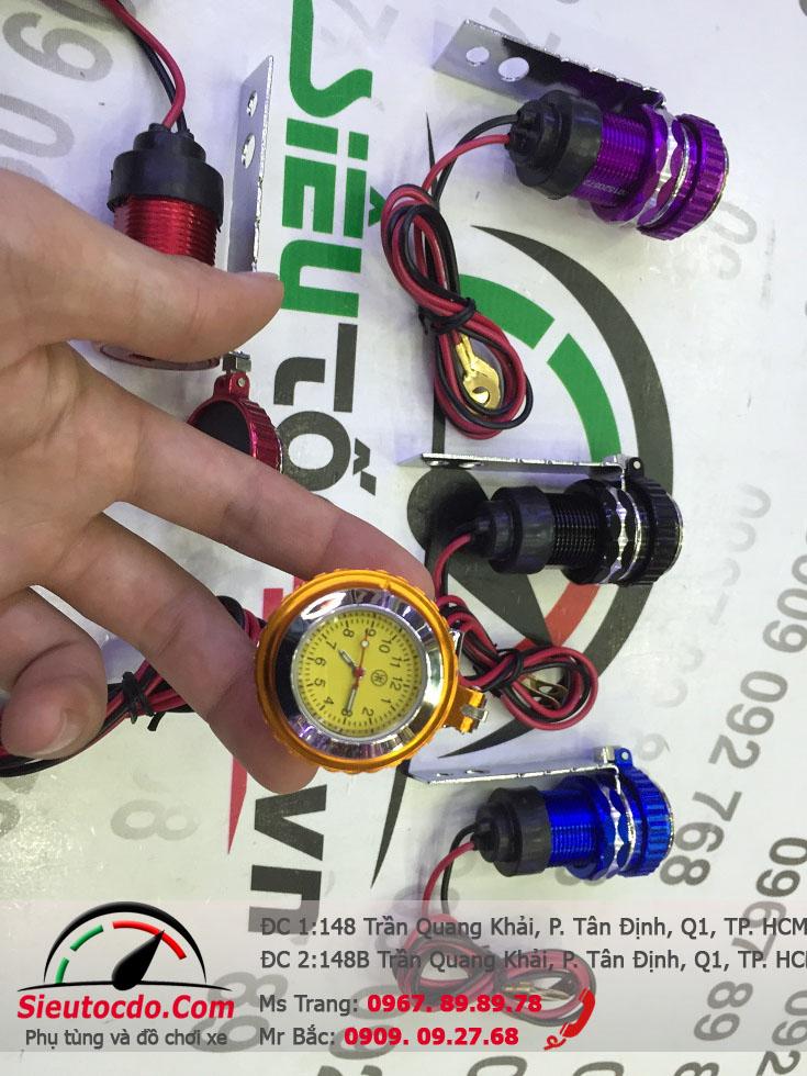 Đồng hồ sạc điện thoại STD-345 STD