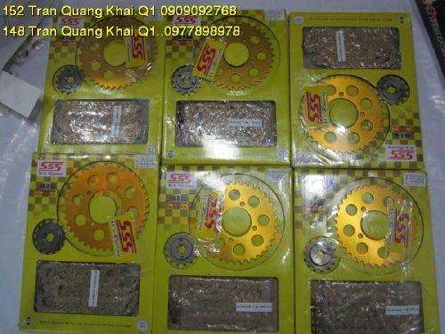 Nhông sên dĩa SSS 7ly Ex135/Ex2010 STD-254 SSS