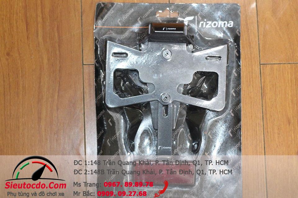 Bát biển số RIZOMA F1 có đèn STD-537 rizoma