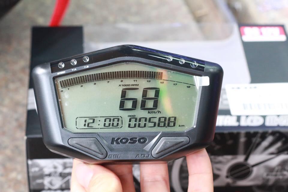 Đồng hồ Koso DB-02R chính hãng STD-667 Koso