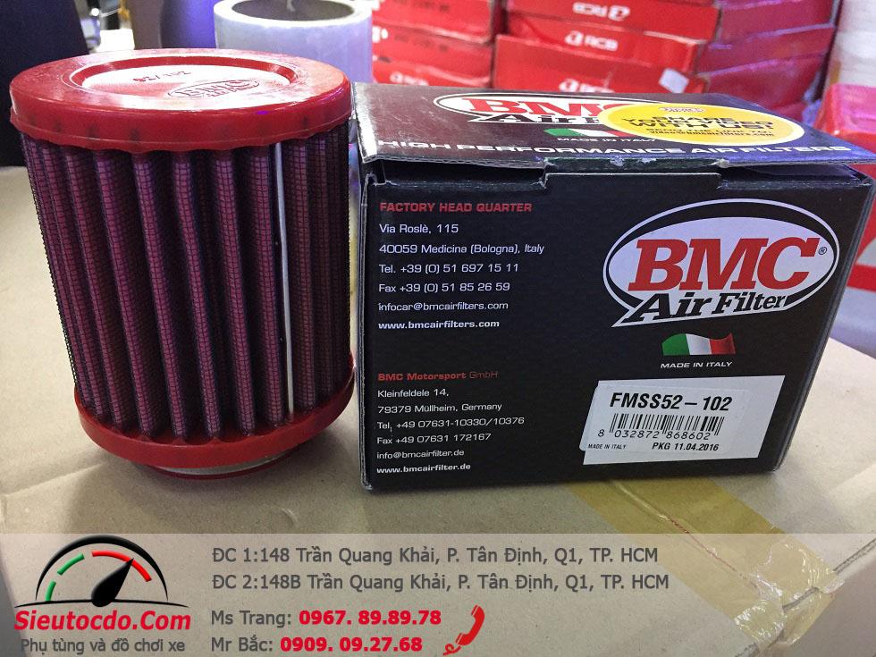 Lọc gió BMC chính hãng Exciter 135 STD-535 bmc