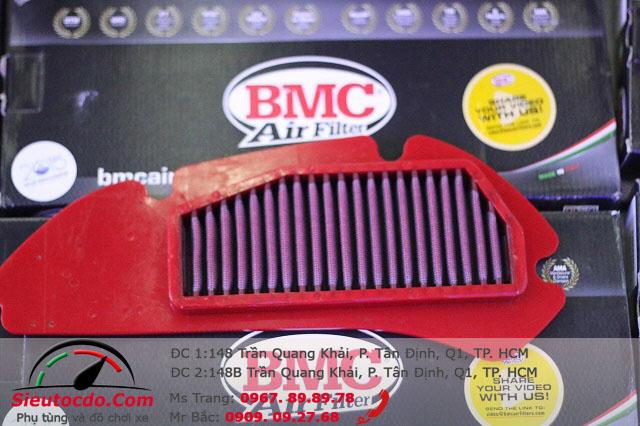 Lọc gió BMC Click,Vario,Air blade ,pcx chính hãng STD-543 bmc