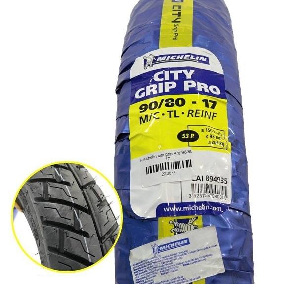 Vỏ xe Michelin City Grip Pro 90/80-17 STD-721 Michelin