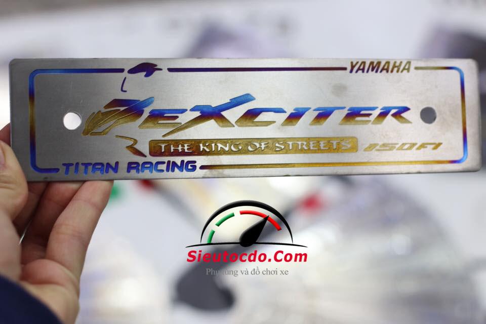 Bảng tên titan yamaha Exciter150 STD-814 Titan