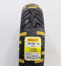 Vỏ Pirelli 120/80-16 Diablo Scooter STD-844 Firelli