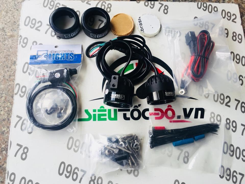 Đèn trợ sáng Clearwater lights hàng Mỹ STD-969 STD
