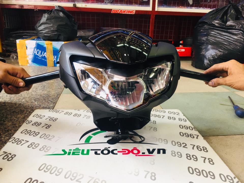Exciter150 2018 lên đầu đèn Exciter150 2109 STD-997 Yamaha