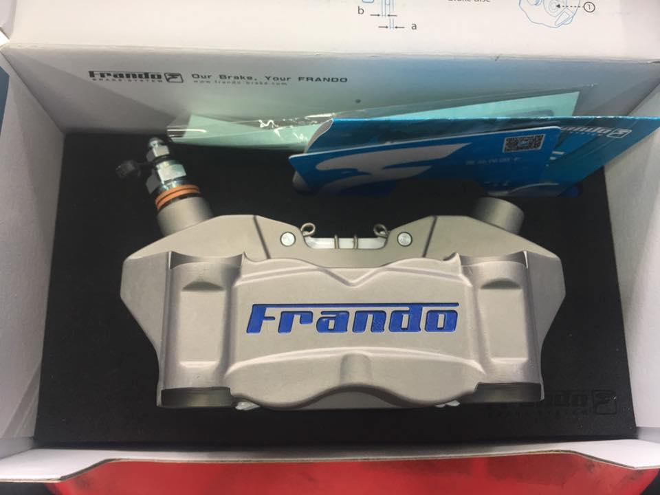 Heo Frando F80A 4 Piston plug and play STD-996 Frando
