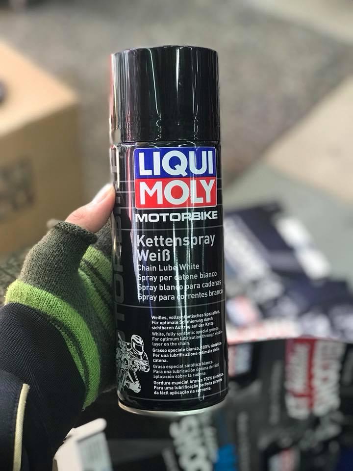Chai xịt sên Liqui Moly Motorbike Kettenspray STD-1030 LIQUI