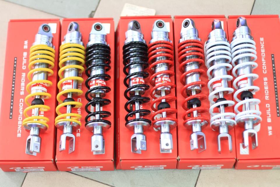 Phuộc RCB C Series (chính hãng) cho AB125, PCX... STD-1023 Racingboy
