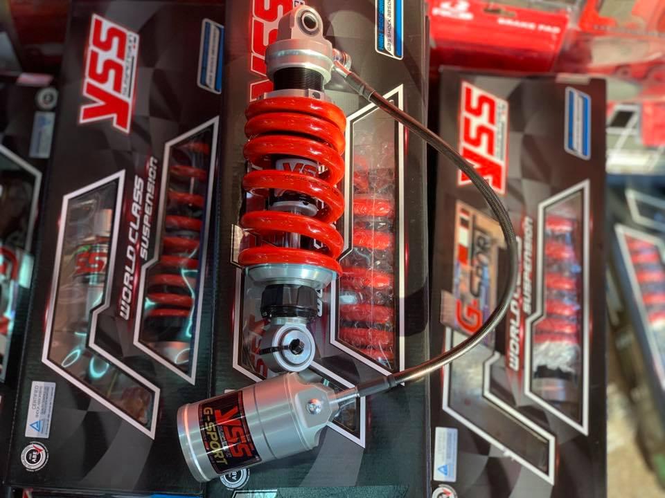 Phuộc Yss G-sport 2019 Winner150/Sonic STD-1053 yss, Phuộc Yss G-sport mẫu 2019 gắn xe Winner150/Sonic  bảo hành: 6 tháng Nhứng êm ,có độ tăng chỉnh nặng nhẹ,....mẫu bao hót,cực đẹp,....  Made in Thailand