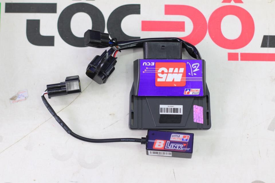 Ecu M5 Uma racing chính hãng gắn Sonic/Winner STD-977 UMAracing, Ecu M5 Uma racing chính hãng gắn Sonic/Winner  Tác dụng: Ecu M5 uma racing Thế hệ mới, mở hết vòng tua máy, Map được phát triển hoàn thiện cho xe zin, plug and play thôi nha anh em, dễ canh chỉnh, điều chỉnh được lượng xăng phun và góc đánh lửa, có thể Update mapping khi kết nối máy tính.