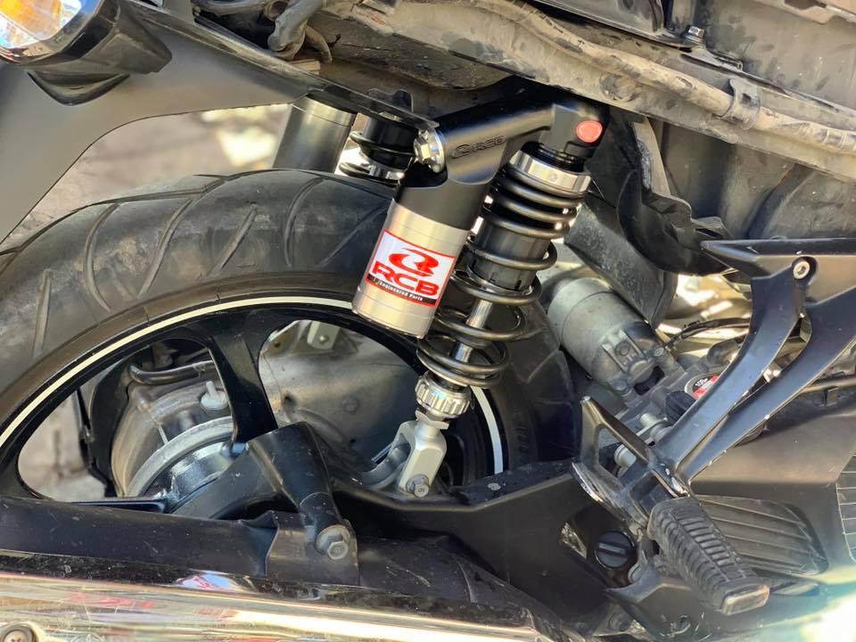 Phuộc RCB DB5 series Nvx/sh150i/Novo STD-1010 Racingboy, Phuộc RCB DB5 series Nvx/sh150i hàng chính hãng  Bảo hành 12 tháng  Bao gắn  Nhúng êm .đẹp,mẫu mới nhất 2019,....có tăng chỉnh lên nhanh chậm của phuộc, tăng chỉnh nặng nhẹ....