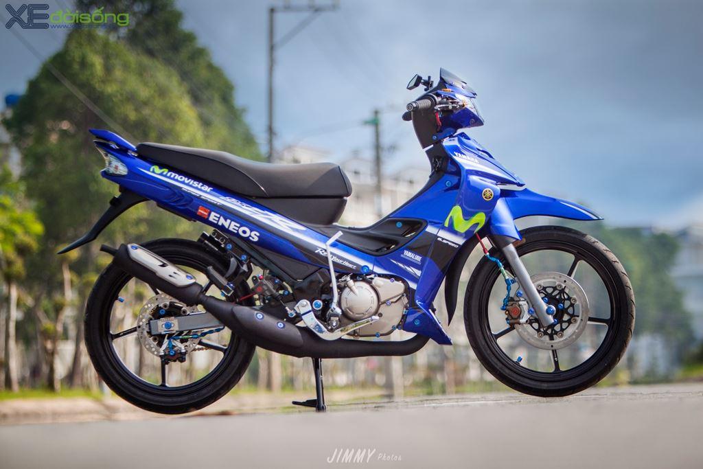 """Chi tiết Yamaha Z125R độ """"full"""" đồ đường đua độc nhất Việt Nam"""