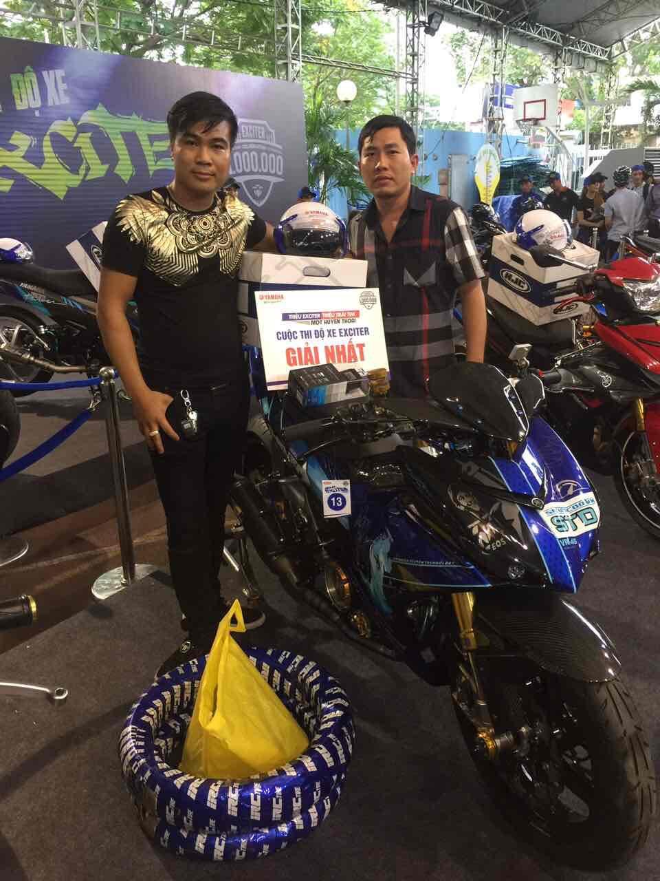 Kỷ niệm 1.000.000 Exciter Yamaha Cuộc thi xe đẹp