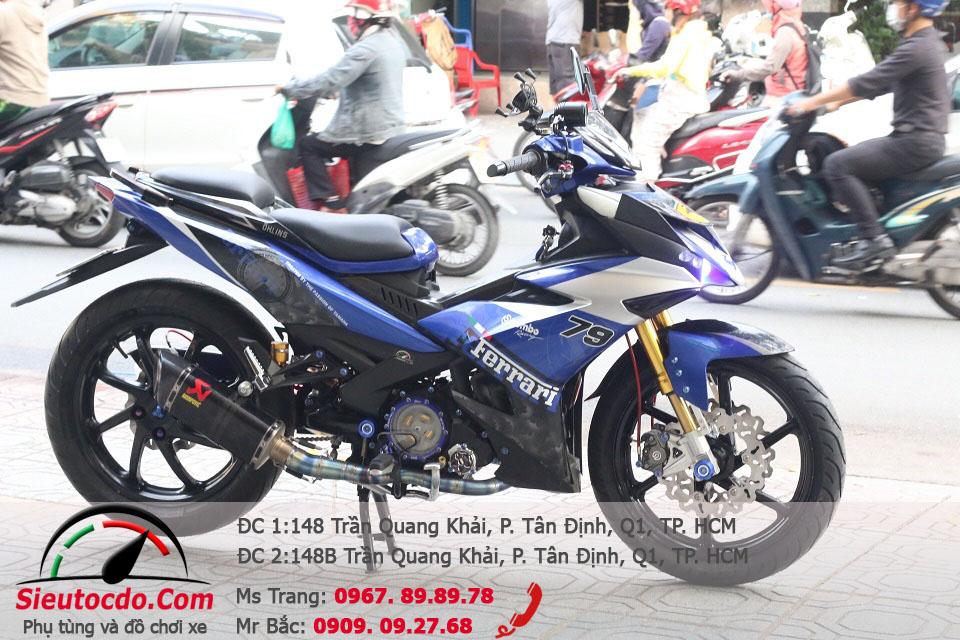 Yamaha Exciter 150 độ dàn chân ducati 1199